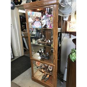 Shop Pocatello 2nd Time Around Pocatello corner curio cabinet