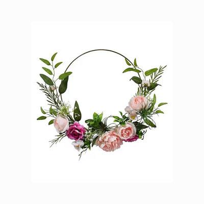 Rose & Wire Wreath at Joann Fabrics & Crafts