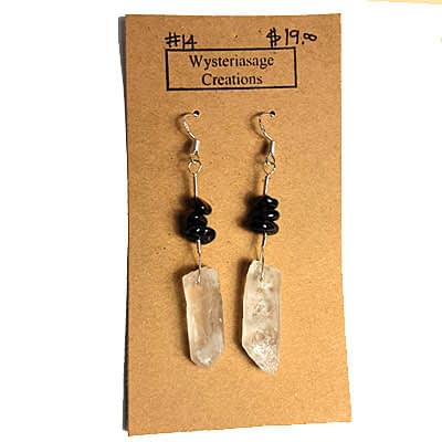 Handcrafted Earrings 2 at Wysteriasage Creations