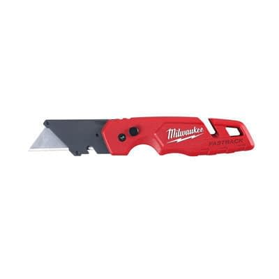 Milwaukee Fastback 6-3/4 in. Press and Flip Utility Knife at Ace Hardware