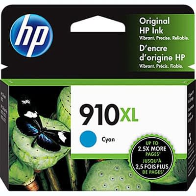 HP 910XL High Yield Color Printer Ink Cartridges at Laser Xpress