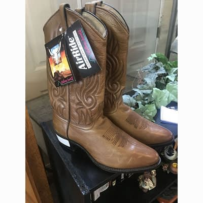 New Abilene Western Boots at 2nd Time Around Pocatello