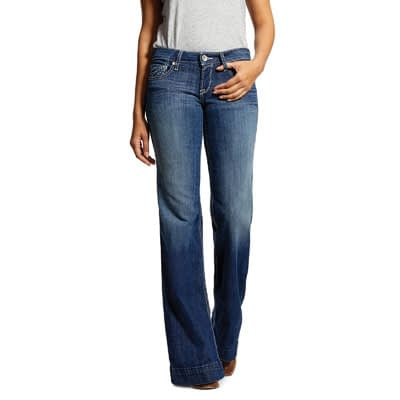 Ariat Trouser Mid Rise Stretch Sunset Jean at Vickers Western Stores