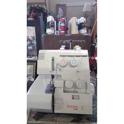 Bernette 43D Serger at 2nd Time Around Pocatello