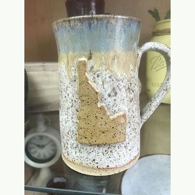 Shop Pocatello Poky Dot Boutique ceramic mug