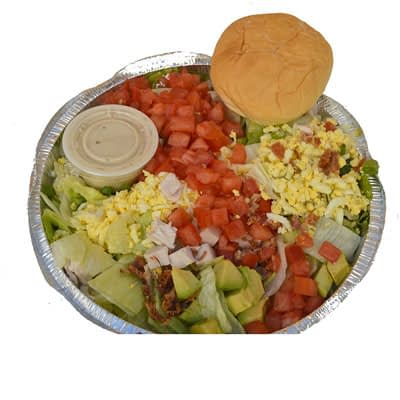 Cobb Salad at Food For Thought Take Out