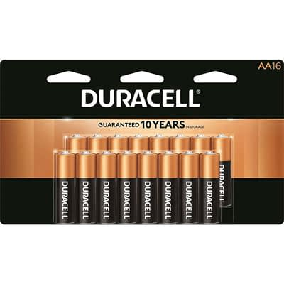 Duracell Coppertop AA Alkaline Batteries 16 pk Carded at Ace Hardware