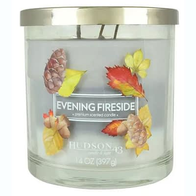 Hudson 43 Candle & Light Evening Fireside Candle at JOANN Fabrics and Crafts