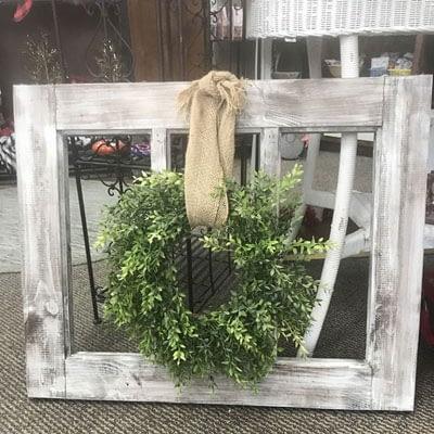 Framed Wreath at Poky Dot Boutique