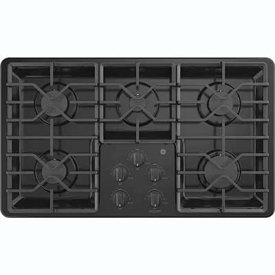GE® 36″ Built-In Gas Cooktop at Dell's Home Appliance & Mattress Center