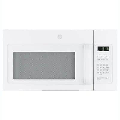 GE® Over The Range Microwave-White at Dell's Home Appliance & Mattress Center