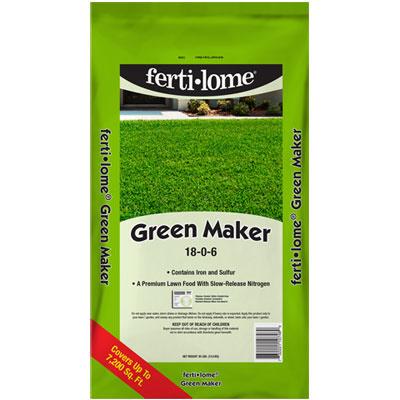 ferti-lome Green Maker 18-0-6 at The Pocatello Greenhouse