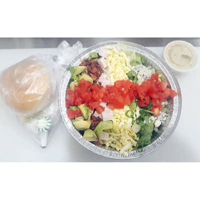 Half Cobb Salad at Food For Thought Take Out