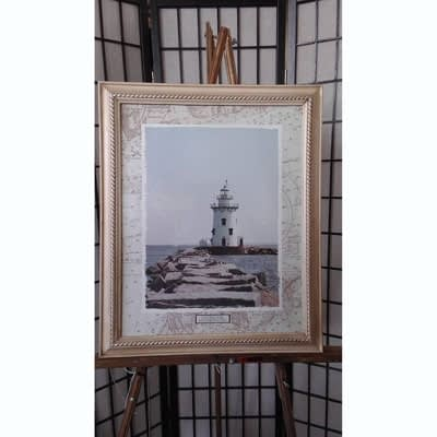 Framed Art Lighthouse at 2nd Time Around Pocatello