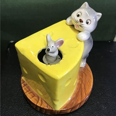 Cat and Mouse Music Box at 2nd Time Around