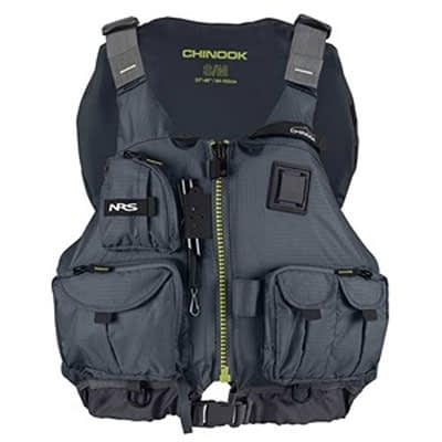 NRS Chinook Fishing PFD at Element Outfitters