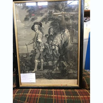Robertus Strange Print of Charles I of England at 2nd Time Around