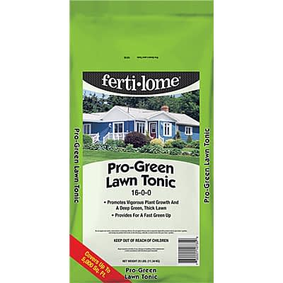 ferti-lome Pro Green 16-0-0 at The Pocatello Greenhouse