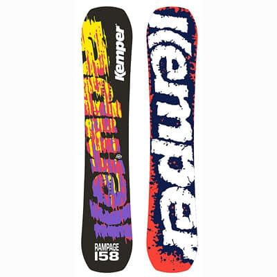 152cm Kemper Rampage 1990/91- Park Snowboard at Deckadence