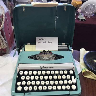 Shop Pocatello 2nd Time Around Pocatello vintage Smith Corona typewriter