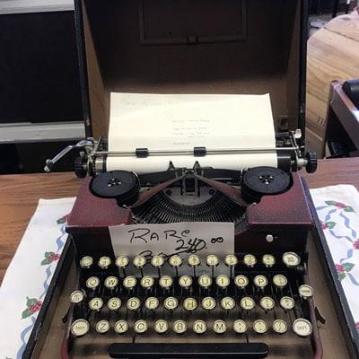 Rare Royal Portable Typewriter at 2nd Time Around