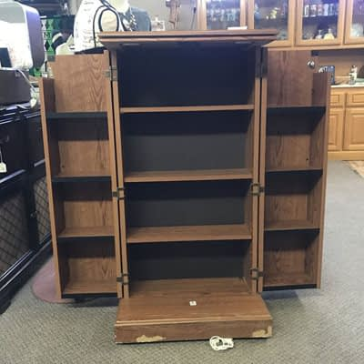 VHS Cabinet 2nd Time Around
