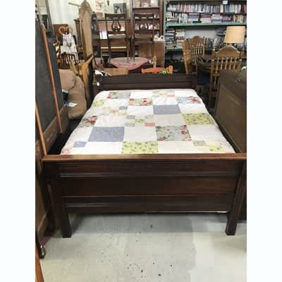 Wood Bed Frame and Mattress at 2nd Time Around Pocatello