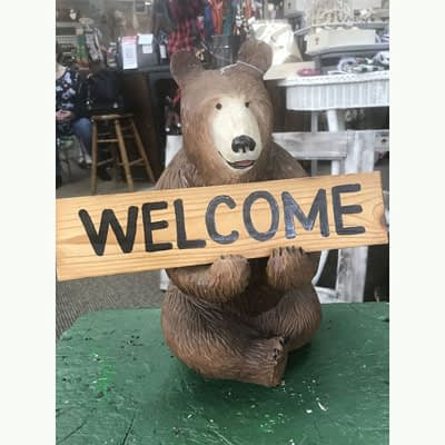 Welcome Bear at Poky Dot Boutique