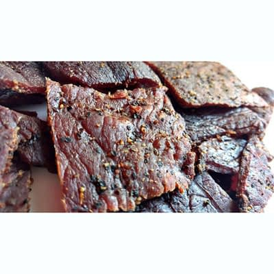 Teriyaki Jerky at Del Monte Meats