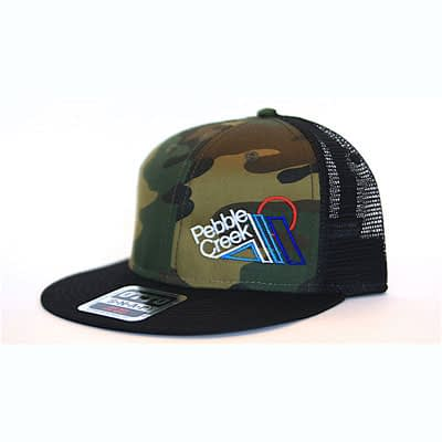 Camo Mesh Snapback Hat at Pebble Creek Ski Area