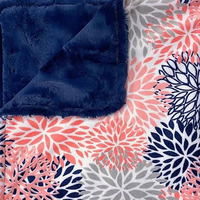 Pampered Pets – Coral Blossom with Navy Hide at CozyBelle