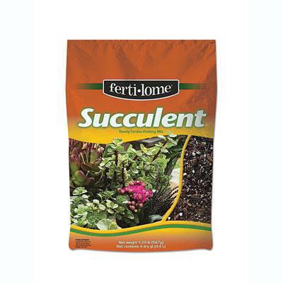 Fertilome Succulent Mix at The Pocatello Greenhouse