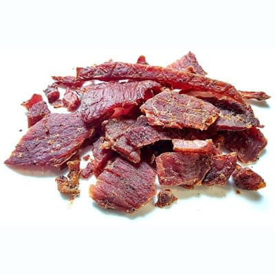 Pork Jerky at Del Monte Meats