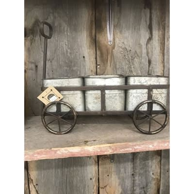 Small Wagon Planter at The Pocatello Greenhouse