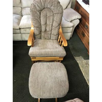 Shop Pocatello 2nd Time Around Pocatello glider rocker chair