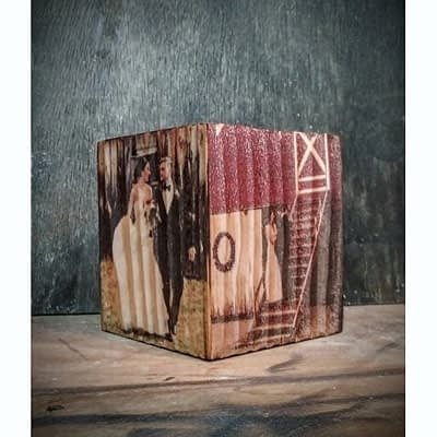 Shop Pocatello Ideas on Wood cube 3