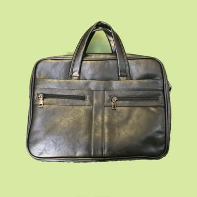 Leather Briefcase – New at 2nd Time Around Pocatello