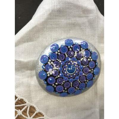 Shop Pocatello Poky Dot Boutique hand decorated rock