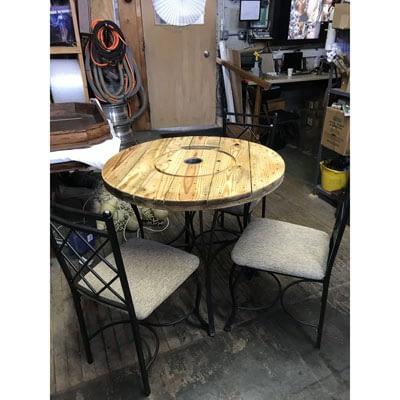 Round Patio Table at 2nd Time Around Pocatello