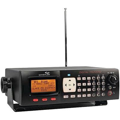 Whistler Digital Trunking Desktop Radio Scanner at Vern's Radio Shack