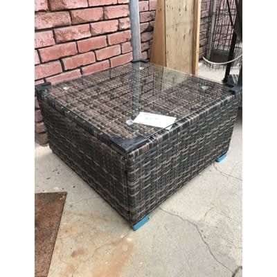 Wicker Patio Coffee Table at 2nd Time Around Pocatello