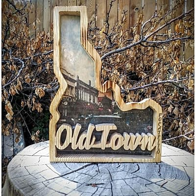 Old Town at Ideas on Wood