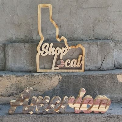 Shop Local – Shop America at Ideas on Wood