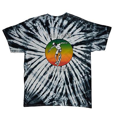 Vibes Tee Tie Dye T-Shirt at Deckadence