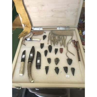Indian Artifacts and Arrow Heads at 2nd Time Around Pocatello