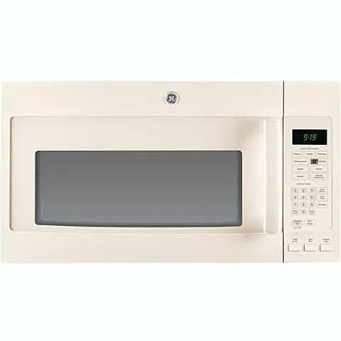 GE Profile™ Series Over The Range Microwave-Bisque at Dell's Home Appliance & Mattress Center