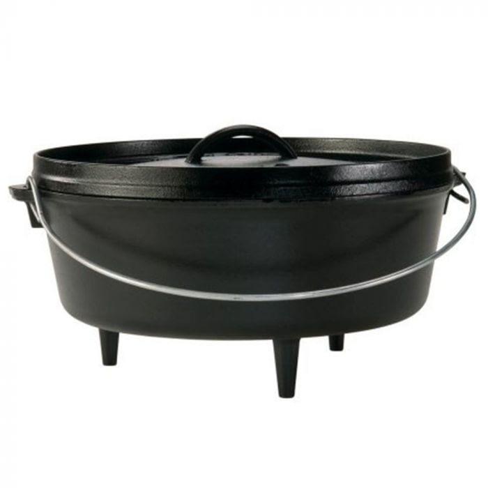 Lodge Camp Dutch Oven 6Qt – Black at C-A-L ranch stores